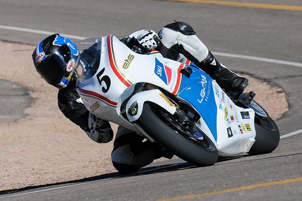 Electric Motorcycle Beats Gas Powered Competitors at Pikes Peak International Hill Climb