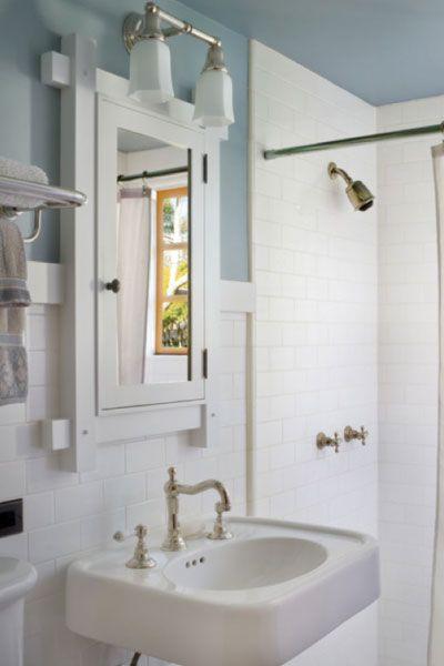 Borrowing Ideas From A Well-Designed Small Bathroom