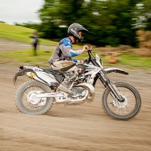 Test-Riding a Christini 450 DS AWD Motorcycle