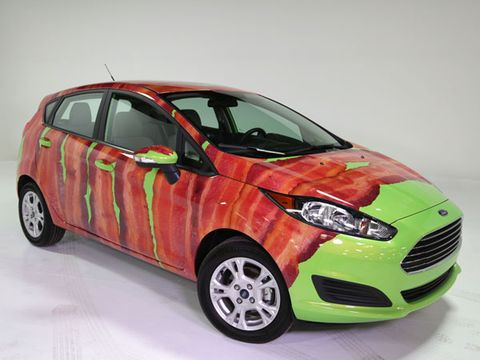 "2014 Ford ""Bacon-Wrapped"" Fiesta"