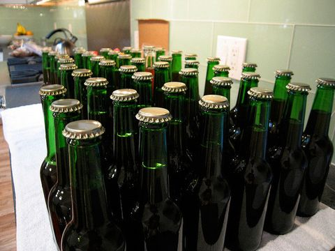 Bottle, Glass bottle, Drinkware, Liquid, Drink, Glass, Alcoholic beverage, Alcohol, Barware, Beer bottle,