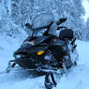 canada has a stealth snowmobile it won t let you see