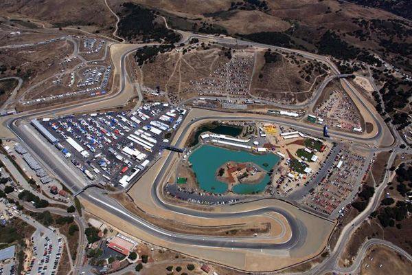 Mazda Raceway Laguna Seca: Behind the Barricades