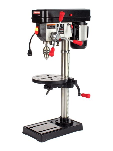 Delightful Image. A Drill Press Provides Power And Accuracy You Canu0027t Get Drilling By  Hand. We Tested Five Full Size Bench Top Machines, Each With A Minimum  Swing Of ...