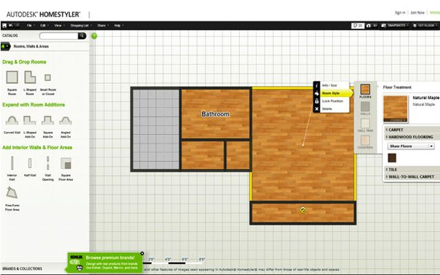 Getting to know Autodesk Homestyler 3D Floor Planner