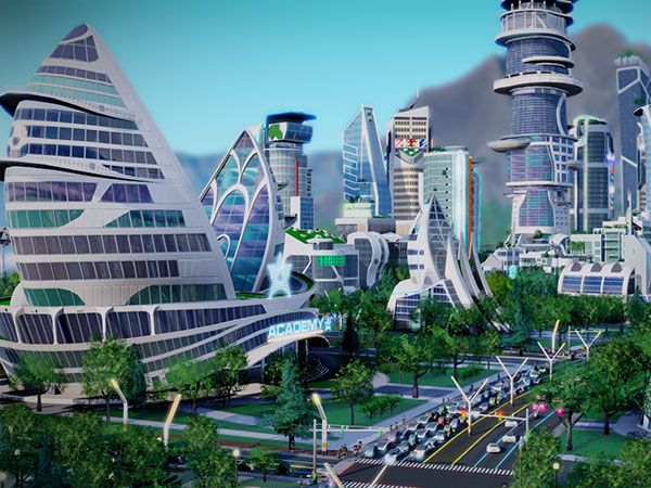The Science and Science Fiction of SimCity: Cities of Tomorrow