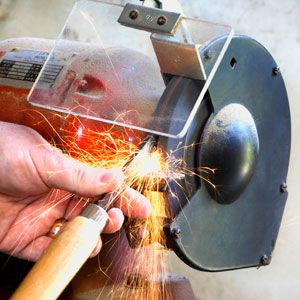 How to Sharpen Tools on a Bench Grinder