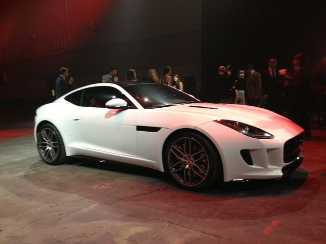 LA Auto Show: Jaguar F-Type Coupe