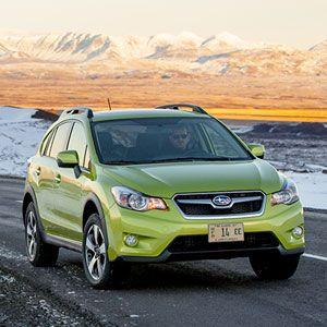 Subaru's First Hybrid: 2014 XV Crosstrek