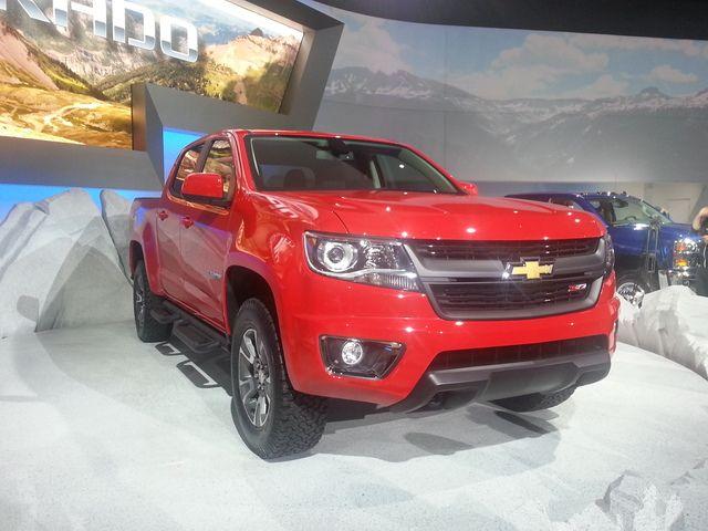 LA Auto Show: 2015 Chevrolet Colorado