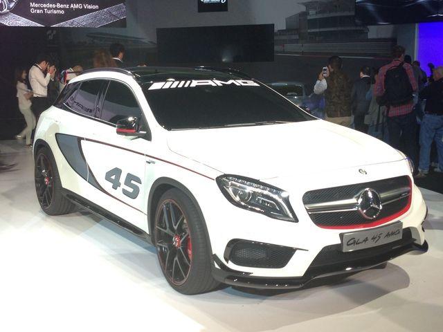 LA Auto Show: Mercedes-Benz Concept GLA 45 AMG