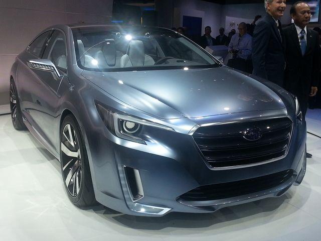 LA Auto Show: Subaru Legacy Concept