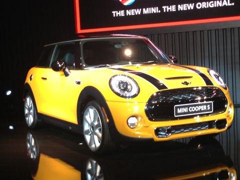 La Auto Show 2014 Mini Cooper Hardtop