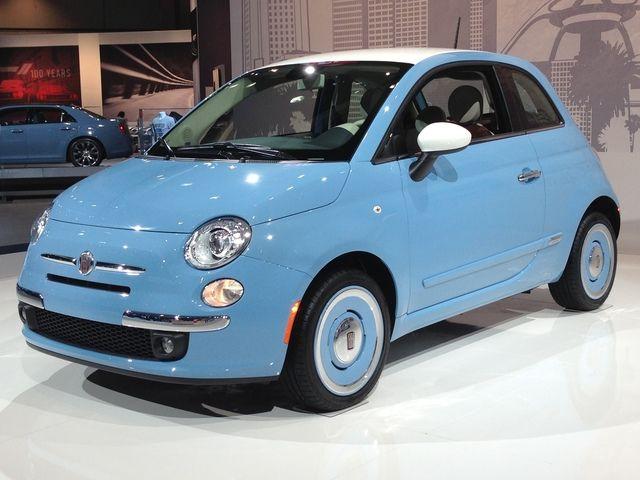 LA Auto Show: 2014 Fiat 500 1957 Edition