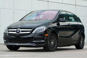 2015 Mercedes Benz B Class Electric Drive Test Ride