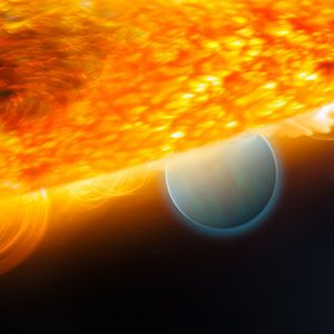 A New Way to Weigh an Exoplanet