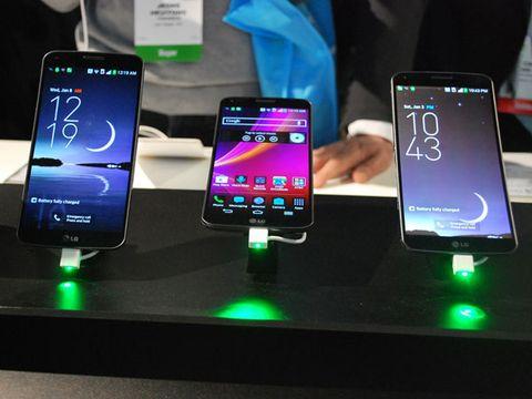 LG G Flex Smartphone