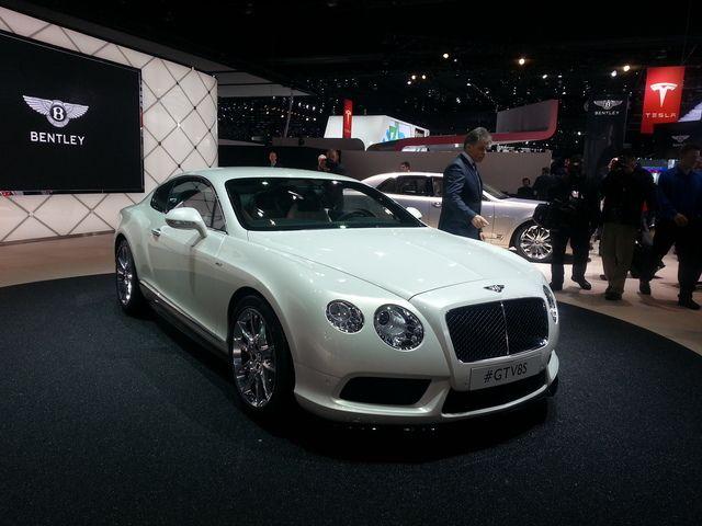 Detroit 2014: Bentley Continental GT V8 S