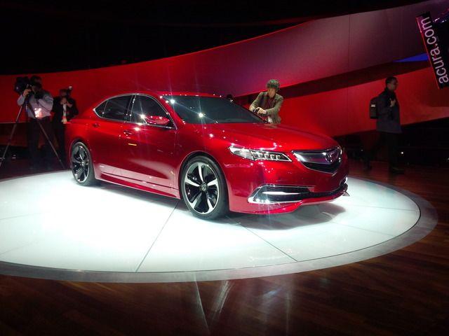 Detroit 2014: 2015 Acura TLX Concept