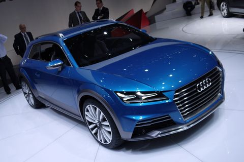 Detroit The Audi Allroad Shooting Brake Concept Telegraphs The - Audi detroit