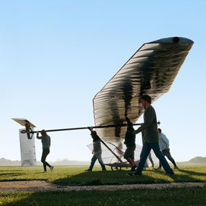 The Improbable Pedal-Powered Flying Machines