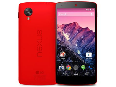 The Wingman: Google Nexus 5 Red