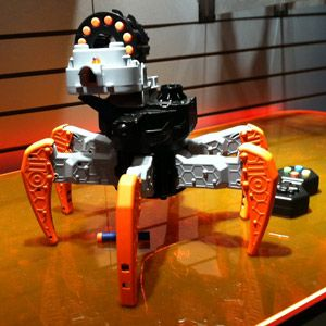 Nerf's 6-Legged RC Robot, Coming Soon to Your Nightmares