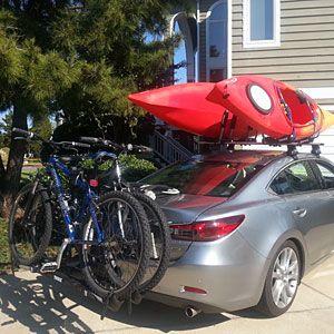 Kayak Roof Rack For Cars >> Car Racks 101 Hauling Your Bike Ski Or Kayak