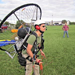 What It Feels Like to Fly a Powered Paraglider