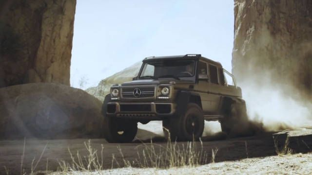The Mercedes AMG G63 6x6 Will Star in the Next Jurassic Park