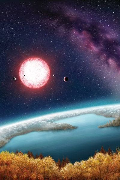 First Earth-Sized, Potentially Habitable Exoplanet Found