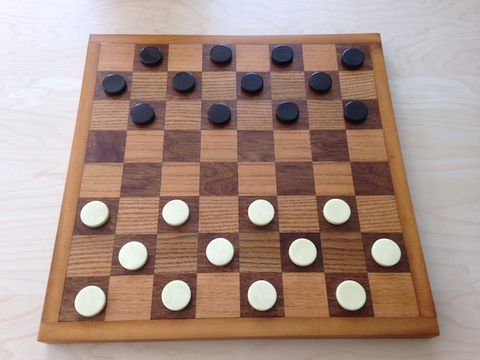 "<p>This game board will last for years and the construction technique is similar to building a cutting board. You can also build the <a href=""https://www.amazon.com/Pressman-Toy-PRE110224-Checkers-Pieces/dp/B004UMOBR2"" target=""_blank"" data-tracking-id=""recirc-text-link"">pieces</a> for it, or buy them separately.</p><p><a href=""http://www.popularmechanics.com/home/how-to-plans/how-to/g1501/how-to-build-a-chess-and-checkerboard/"" target=""_blank"" data-tracking-id=""recirc-text-link"">How to Build a Chess and Checkers Board</a><span class=""redactor-invisible-space"" data-verified=""redactor"" data-redactor-tag=""span"" data-redactor-class=""redactor-invisible-space""><a href=""http://www.popularmechanics.com/home/how-to-plans/how-to/g1501/how-to-build-a-chess-and-checkerboard/""></a></span><br></p>"