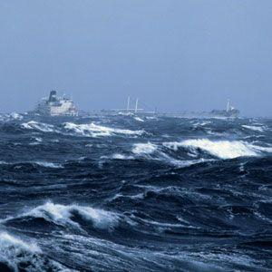 How Ships Survive a Hurricane at Sea