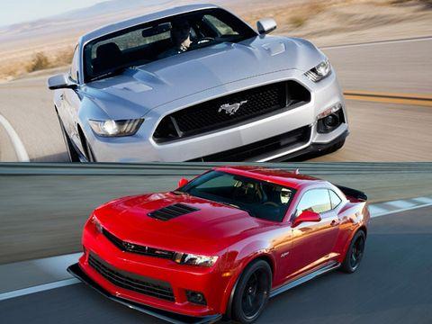 Ford Mustang vs. Chevrolet Camaro