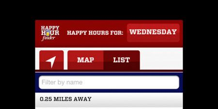 Happy Hour Finder