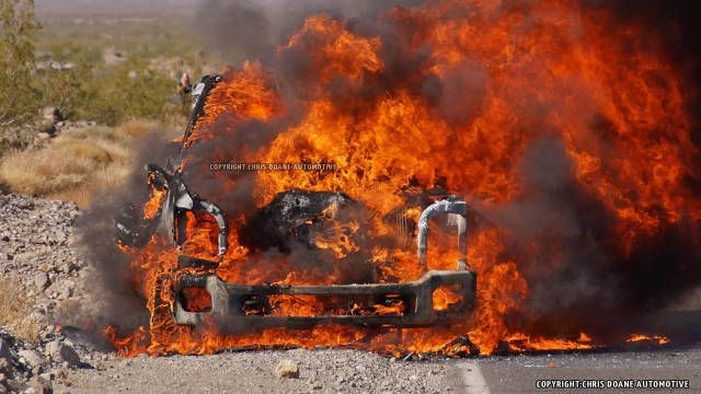 This 2016 Ford Super Duty Prototype Burned to the Ground