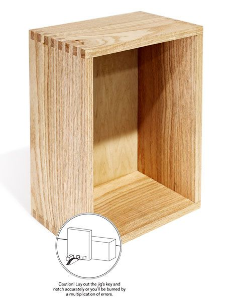 "<p>This article demonstrates three different ways to build a box. Using a box joint, spline, or rabbet joint. Building a box with square corners is a great first woodworking project.</p><p><a href=""http://www.popularmechanics.com/home/how-to-plans/how-to/g1591/how-to-make-a-box/"" data-tracking-id=""recirc-text-link"">How to Make a Box</a></p>"