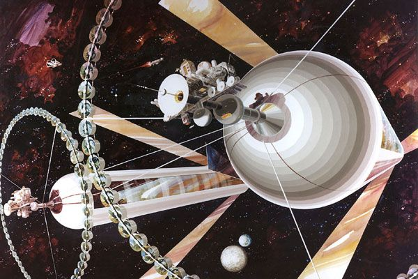 How We Could Actually Build a Space Colony
