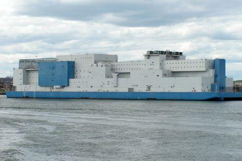 Floating Prison, New York City