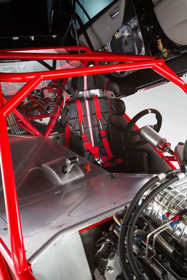 There's an 850-hp Drag Racer Hiding Under This Camry Skin