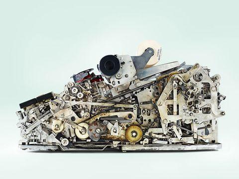 Space, Machine, Engineering, Silver, Spacecraft, Automotive engine part, Aircraft,