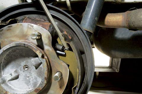 Suzuki Grand Vitara Rear Brakes