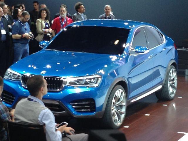 LA Auto Show: BMW Concept X4