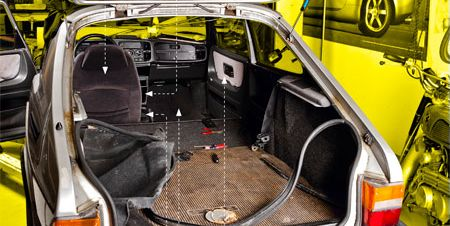 How to fix up your cars interior on the cheap john oates from hall oates private eyes theyre watching you once owned this 1986 saab 900 turbo but you wouldnt know it was a rock stars car from solutioingenieria Gallery