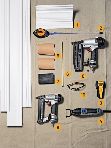How To Install Crown Molding How To Cut Crown Molding Easily