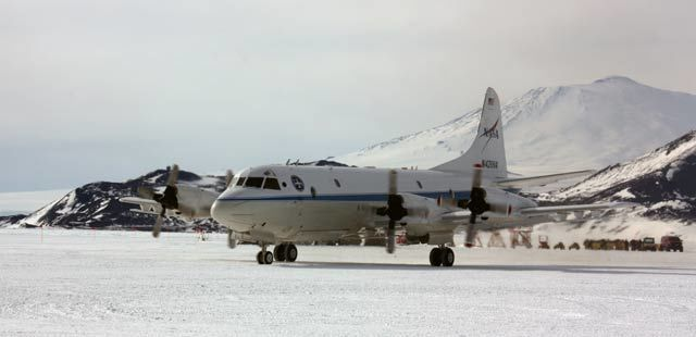 Why NASA Is Flying an Old Plane Over Antarctica