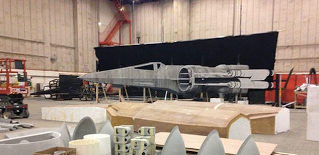 Leaked Photos: Star Wars Episode VII Millennium Falcon