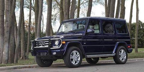 Mercedes-Benz G-class (2715 units)