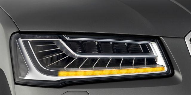 Frankfurt Auto Show: Audi Lights The Way With Smart LED Headlight