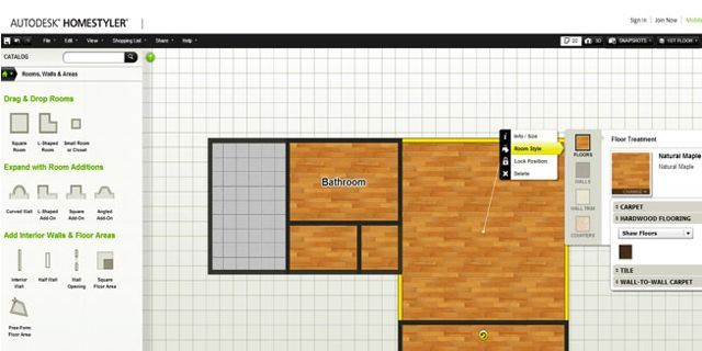 Getting to know Autodesk Homestyler 3D Floor Planner
